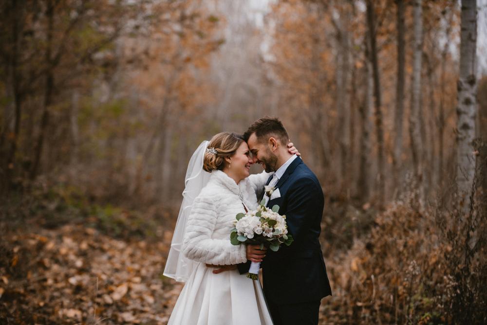 Zsófi és Gábor téli esküvője